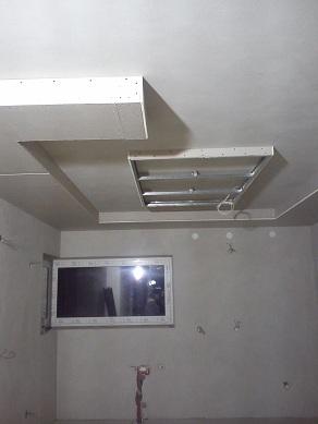 sufit powieszany - konstrukcja