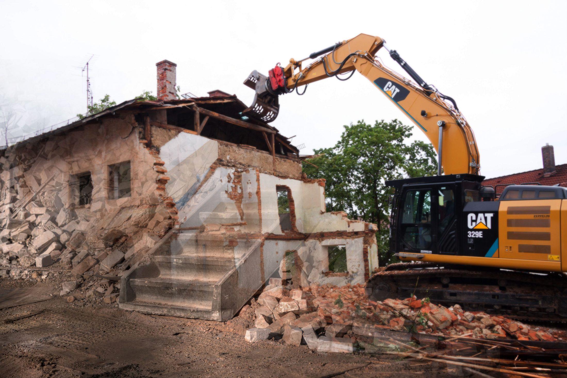 wyburzenie budynków